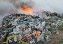 За дождливые выходные в Архангельской области загорелось уже две свалки