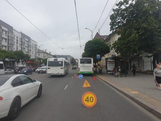 В Калининграде 6-летнего ребенка травмировали в автобусе