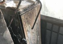 Уфимец получил травмы, пытаясь потушить загоревшийся балкон