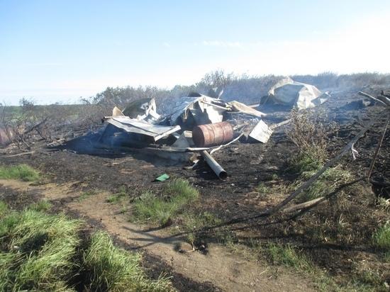 В Тазовском районе мужчина не вызвал пожарных и сгорел
