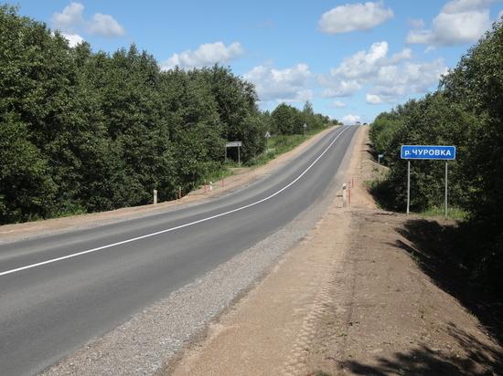 Дорогу Шексна – Сизьма отремонтировали в Вологодской области