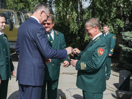 15 единиц спецтехники вручили сотрудникам районных лесничеств и Гостехнадзора Вологодской области