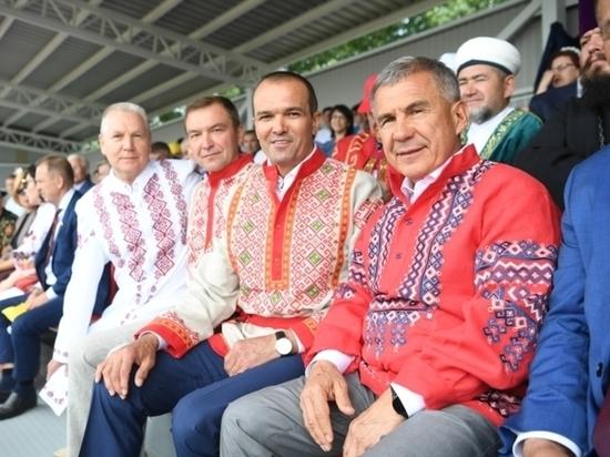 Праздники чувашских автономий проходят в России
