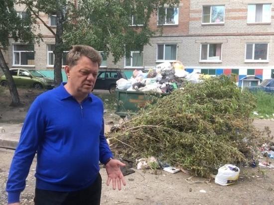 Иван Кляйн извинился перед томичами за мусорный коллапс