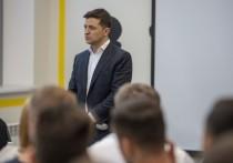 Зеленский: на Донбассе можно будет вести делопроизводство на русском языке