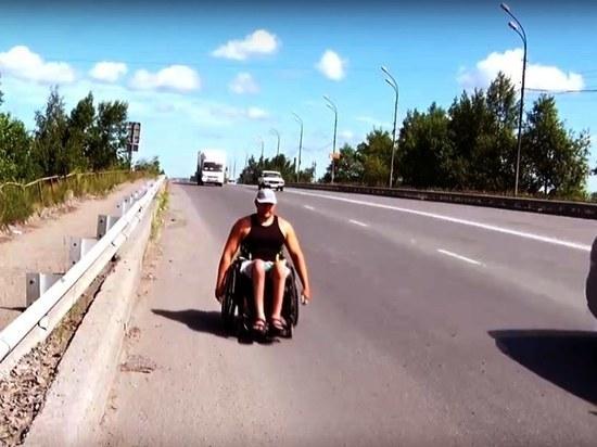 К озерам Хакасии на инвалидной коляске: житель Ачинска устроил необычный пробег