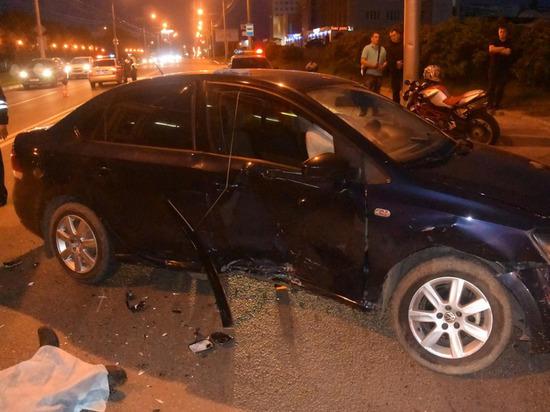 21-летний мотоциклист погиб в ДТП с легковушкой в Чебоксарах