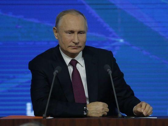 Путин подарил щенка школьнику из Красноярска