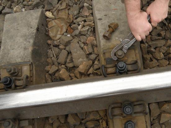 Житель Немана разбирал железнодорожные пути на металлолом