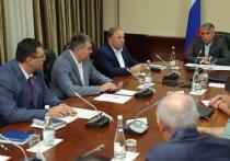 Махмуд-Али Калиматов встретился с Полпредом Президента РФ в СКФО