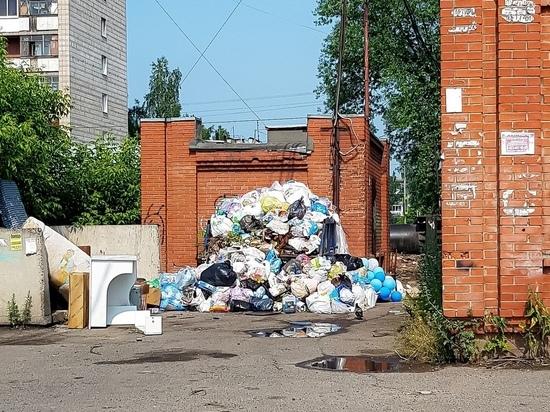 Томские РR-чиновники решили «заработать» на мусорном коллапсе