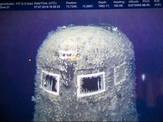 Норвегия зафиксировала утечку радиации из затонувшей подлодки «Комсомолец»