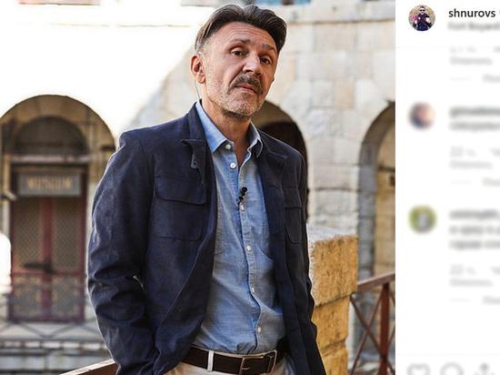Шнуров опубликовал фото себя состарившегося