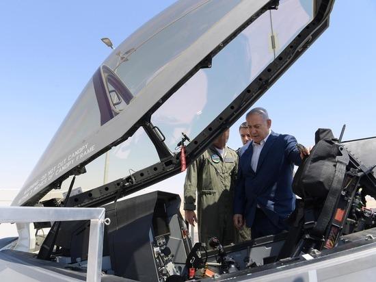 Премьер-министр Нетаниягу посетил эскадрилью F-35 ВВС Израиля