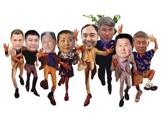 Фото дня: кандидатам в мэры Улан-Удэ сделали ноги