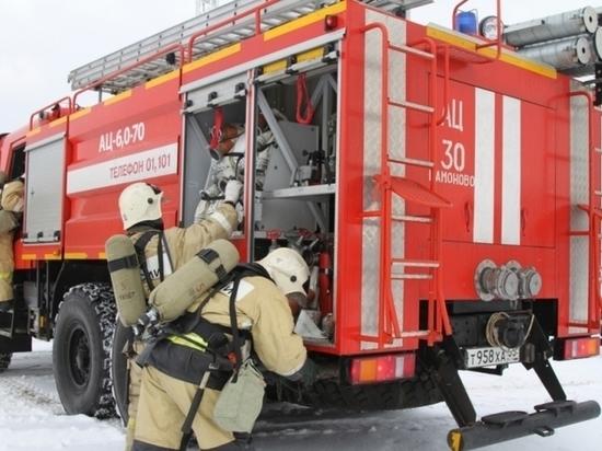 В восьмиэтажном доме Калининграда сгорела комната