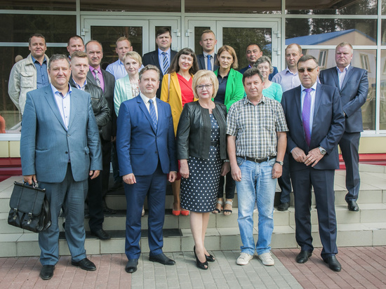 Начальник Департамента финансов области провела встречу с представителями бизнес-сообщества Вытегорского района