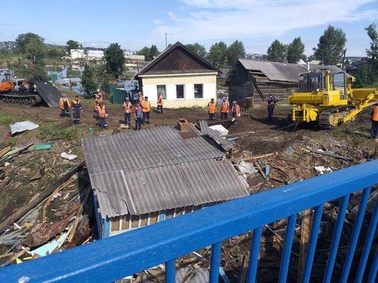 Работы по ликвидации последствий паводка в Приангарье должны завершиться до 19 июля