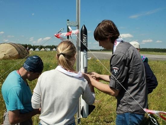 В Камешковском районе запустили в небо ракеты и спутники