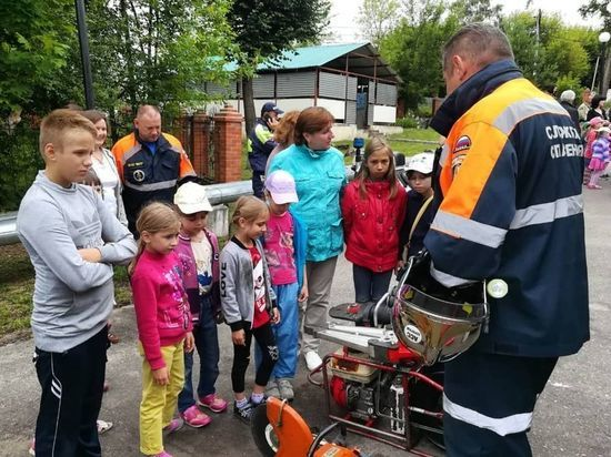 В Серпухове для детей провели акцию «Безопасные каникулы»