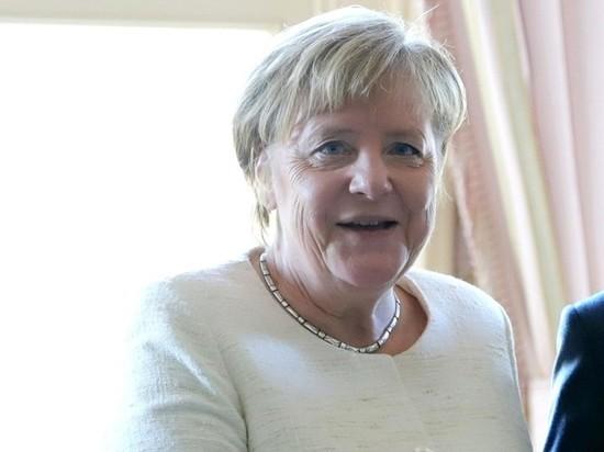 Меркель затряслась в третий раз за месяц