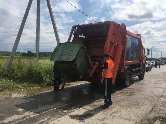 Жители пяти районов Нижегородской области почти перестали жаловаться на вывоз мусора
