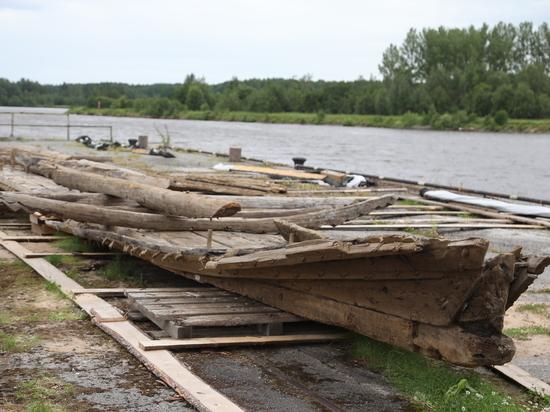 Федеральные специалисты помогут отреставрировать уникальную ладью, найденную в Вологодской области