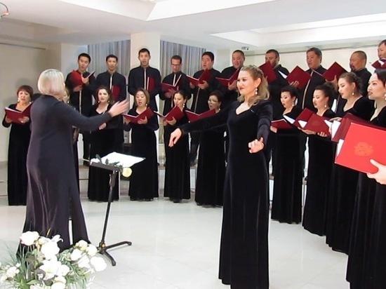 Государственный хор Калмыкии посвящает выступление Леонардо да Винчи