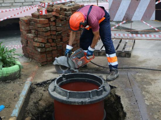 Полимерные канализационные колодцы появились в Хабаровске