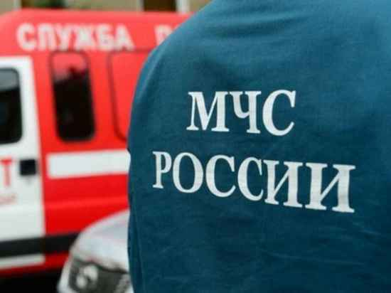 Ночью в Ивановской области сгорел большой дачный дом
