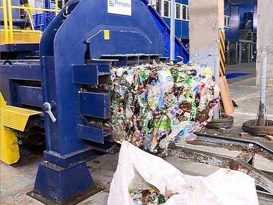 В Иванове на мусоросортировочном заводе запустили вторую линию