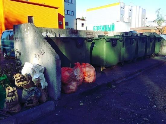 Мусороуборщик ответственен только за просыпавшийся мусор и уборку места погрузки, за то, что за пределами площадки, отвечает владелец территории