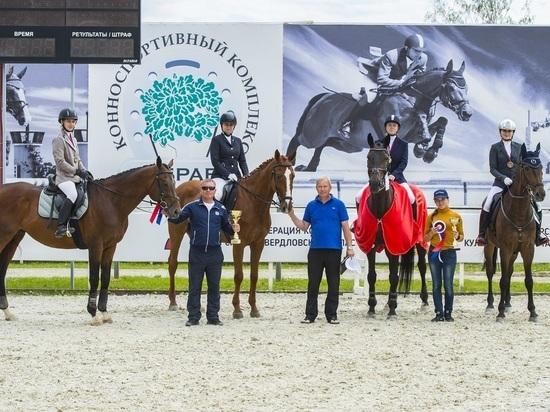 Хакасские конники выиграли соревнования на Урале