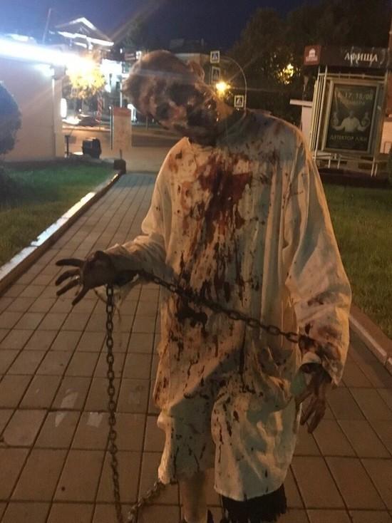 По Кемерову ходил ходячий мертвец