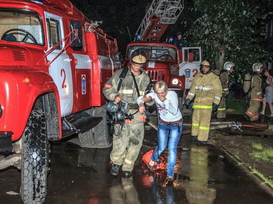 За полгода смоленские пожарные спасли более 90 человек