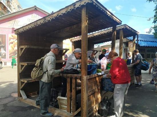 В Красноярске расширили рынок «Злобино»