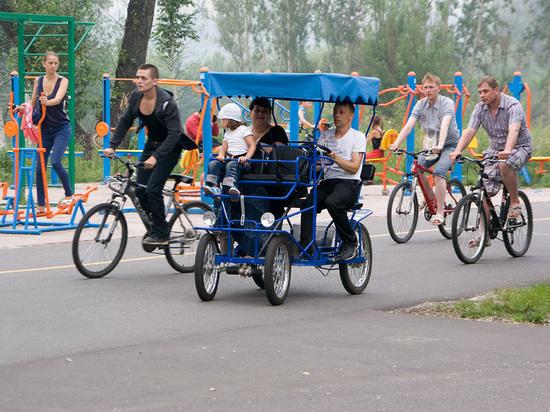 Прокуратура признала незаконным прокат велосипедов на острове Татышев