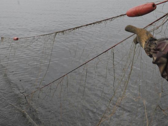 На одном из водоемов Калмыкии задержан браконьер