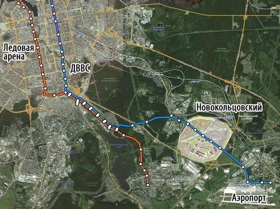 Урбанист предложил провести трамвай в Кольцово