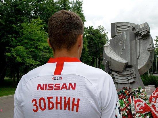 Футболисты «Спартака» будут носить на себе память трагедии 1982 года