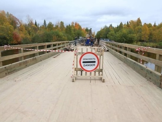 Завтра на ночь полностью закрывается мост через Ижму