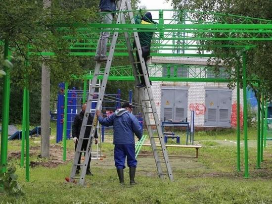 В Архангельске будет организован уличный спортзал