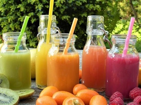 Натуральные соки объявлены причиной рака