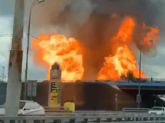 «Земля вздыбилась на глазах» очевидцев пожара на ТЭЦ в Мытищах
