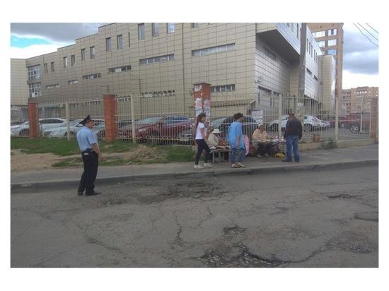В Серпухове продолжается борьба с незаконной торговлей