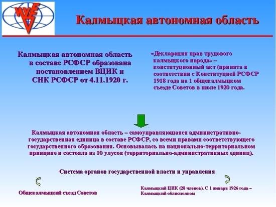 В Элисте и районах республики отпразднуют «День Калмыкии»