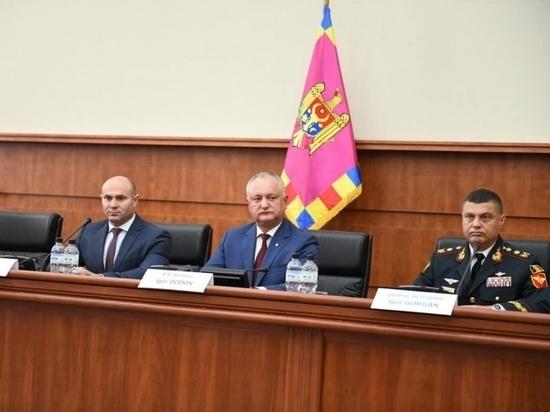 И. Додон: Необходимо восстановить правовое государство в Молдове