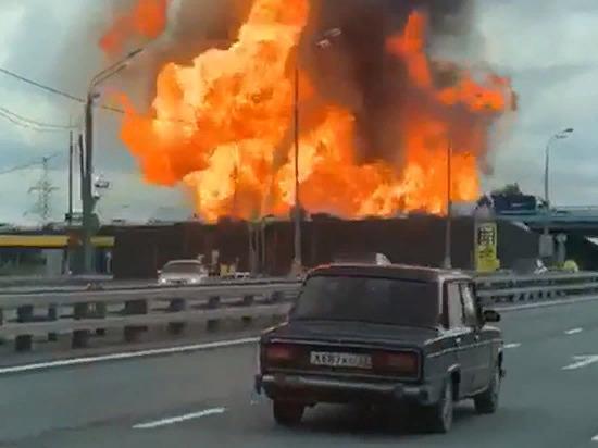 Пожар близ ТЭЦ в подмосковных Мытищах был полностью потушен