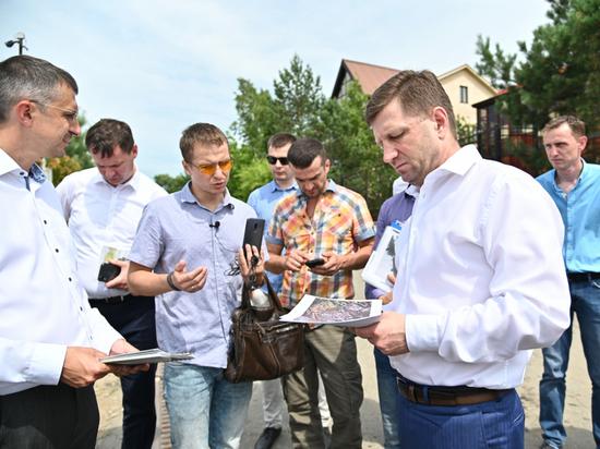 Фургал посетил проблемные дома Хабаровска