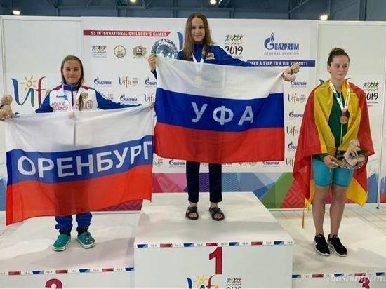 Уфимские спортсменки завоевали два первых «золота» Международных детских игр